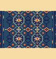 ethnic geometric seamless pattern tribal print vector image vector image
