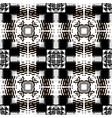 halftone black and white modern seamless pattern vector image vector image