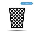 office trash icon eps 10 vector image
