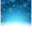 Christmas snowy background vector image
