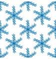 Falling snow seamless pattern White splash vector image vector image