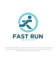 fast run vector image