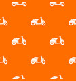 motorbike pattern seamless vector image vector image