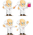 Scientist or Professor Customizable Mascot 11 vector image vector image