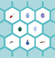 set of game icons flat style symbols with body vector image vector image