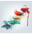 Abstract Composition of 3d vector image vector image
