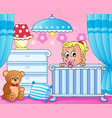 baby room theme image 1 vector image