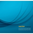 Blue elegant business background vector image