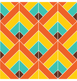 Bohemian Colorful Pattern Background vector image