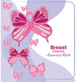 breast cancer awareness month vector image vector image