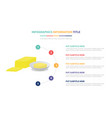 cheese diary infographic template concept with vector image vector image
