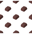 chocolate candy icon in cartoon style isolated on vector image