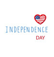 fourth of july independence day vector image vector image