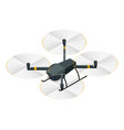 Isometric electric wireless rc quadcopter drone