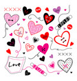 love valentine sweetheart vector image vector image