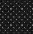 minimalist seamless pattern simple monochrome vector image vector image