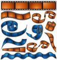 Film reel vector image