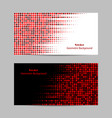 abstract dotted background halftone vector image