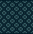 abstract floral geometric seamless pattern vector image