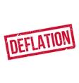 Deflation rubber stamp