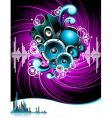 for a musical theme vector image vector image