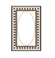 frame card fashion graphic background modern vector image vector image