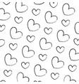 grunge beauty heart love symbol background vector image vector image