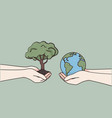 international day charity and donation concept vector image