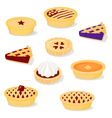 Pies and tarts vector | Price: 3 Credits (USD $3)