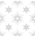 Rosettes Seamless Pattern vector image