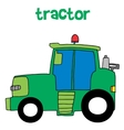 tractor collection vector image