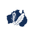 australian dusted feather super store vector image vector image