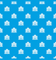 casino building pattern seamless blue vector image