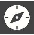 Compass Pointing East vector image vector image