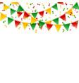 decorative design template for a festive occasion vector image