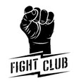 fight club 001 vector image vector image