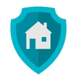 Home lock icon vector image vector image