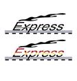 logo locomotive vector image