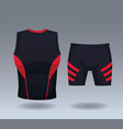 male sport wear vector image