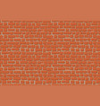 old brick wall background vector image vector image