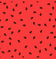 watermelon seeds background pattern juicy sweet vector image vector image