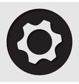 information icon - cogwheel vector image