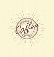 Coffee badges logos and labels for any use vector image vector image