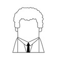 faceless businessman avatar icon image vector image vector image