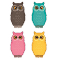 Owl Color vector image
