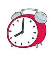 set alarm clock vector image