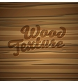 Texture of wood background vector image