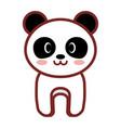 cartoon panda animal image vector image
