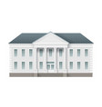 administrative governmentalbuilding vector image
