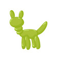 animal dog balloons balloon animals for vector image